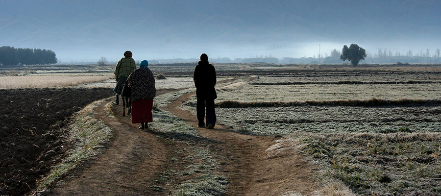 Women walking Morocco